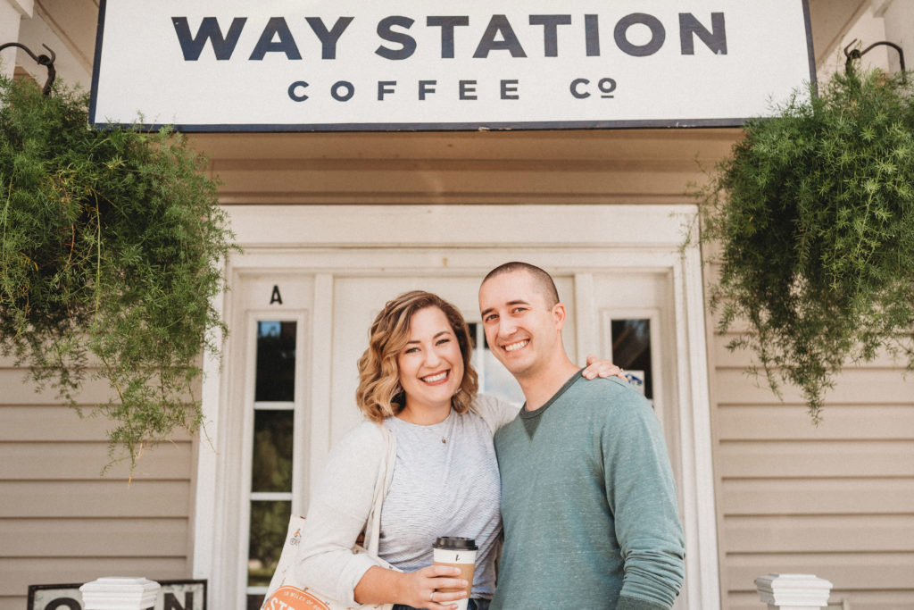 Chelsey and Curtis at Waystation